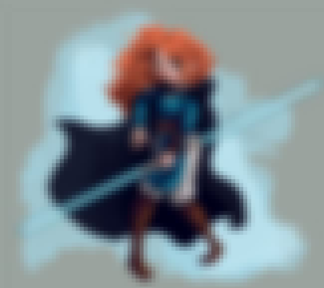 Merida Would Certainly Make A ... is listed (or ranked) 4 on the list Star Wars And Disney Mashup Fan Art Is Exactly What The Universe Needed