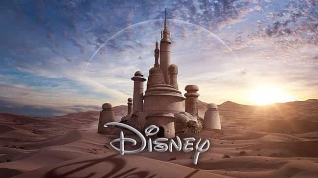 A Magical Castle In A Galaxy F... is listed (or ranked) 2 on the list Star Wars And Disney Mashup Fan Art Is Exactly What The Universe Needed