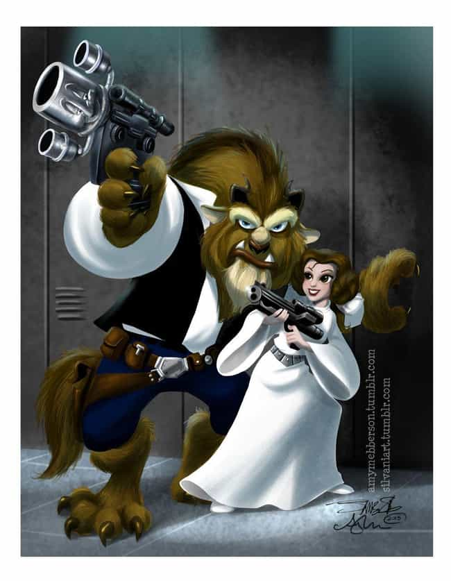 Who You Calling Scruffy-Lookin... is listed (or ranked) 1 on the list Star Wars And Disney Mashup Fan Art Is Exactly What The Universe Needed