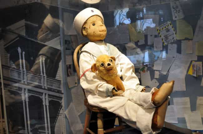 Robert's Origin Story Is... is listed (or ranked) 1 on the list The True Tale Of Robert The Doll, A Cursed Creeper Effigy That Haunts Florida