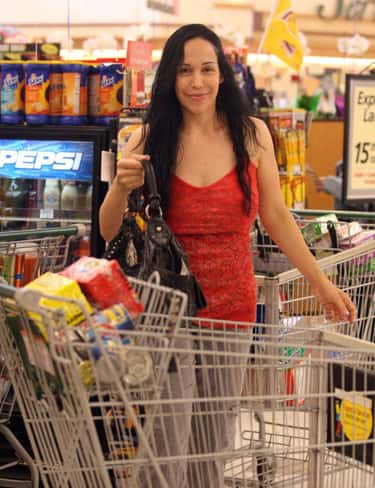 Her Decision To Give Birth To  is listed (or ranked) 5 on the list Things You Don't Know About Nadya Suleman, AKA Octomom