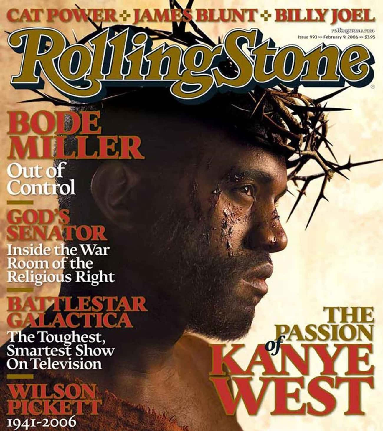 The Passion Of Kanye West— Ro is listed (or ranked) 2 on the list The Most Controversial Magazine Covers Of All Time