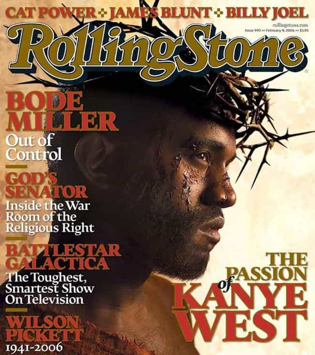 The Passion Of Kanye West — Ro... is listed (or ranked) 2 on the list The Most Controversial Magazine Covers Of All Time