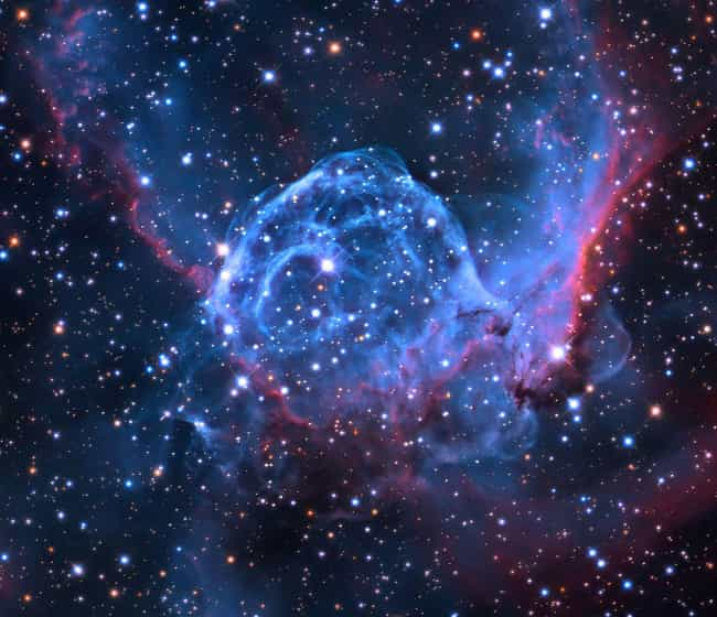 """Thor's Helmet is listed (or ranked) 1 on the list Incredible Images Of Emission Nebulae, The """"Rainbows"""" Of Outer Space"""