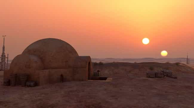 Tatooine is listed (or ranked) 2 on the list An Easy-To-Understand Guide To All The Most Important Locations In The Star Wars Universe