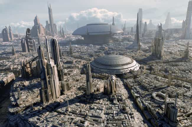 Coruscant is listed (or ranked) 3 on the list An Easy-To-Understand Guide To All The Most Important Locations In The Star Wars Universe