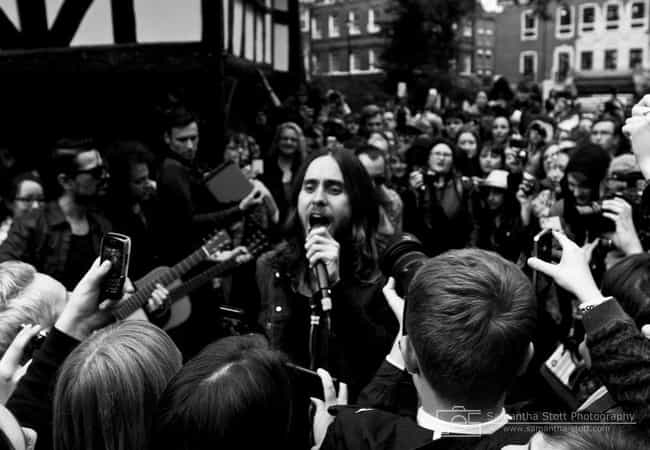 He Was Trampled By Fans At His... is listed (or ranked) 1 on the list Wild Jared Leto Rumors That Are Actually 100% True
