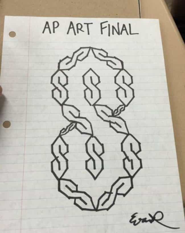 Here S The Story Behind That Cool S Thing You Used To Draw In Class