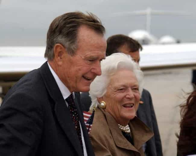 Barbara Thought That Paying At... is listed (or ranked) 4 on the list The Surprisingly Un-American Attitudes And Bizarre Behavior of George H.W. And Barbara Bush