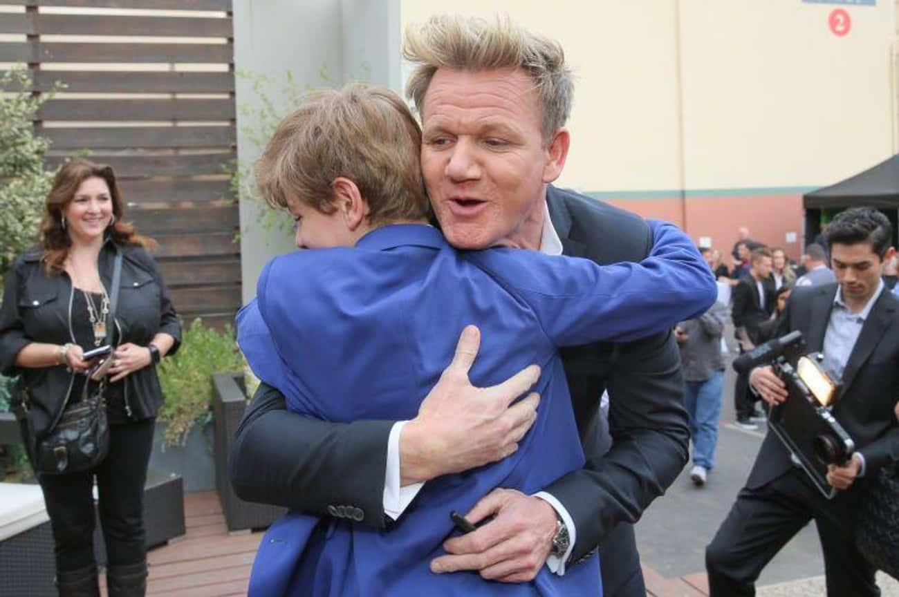 Gordon Ramsay Is Actually A Super-Sensitive, Nice Guy