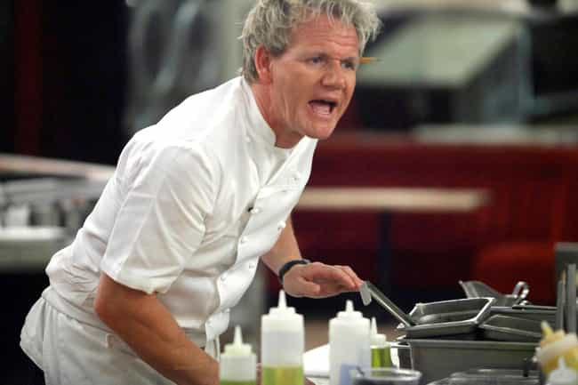 Ramsay's Hot Temper Is Ham... is listed (or ranked) 2 on the list Turns Out, Kitchen Nightmares Is Full Of Baloney And Gordon Ramsay Is Not That Mean