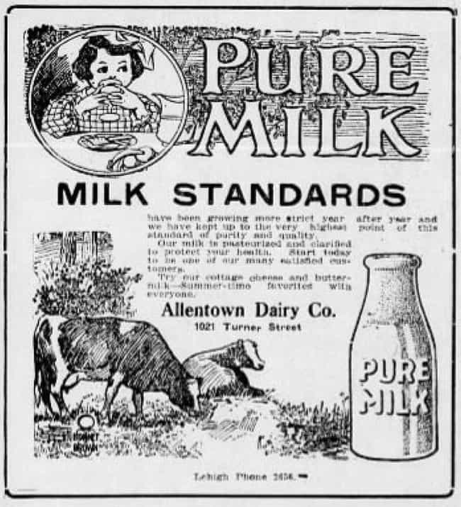 Swill Cows Produced Disc... is listed (or ranked) 3 on the list In The 1850s, An Epidemic Caused By Milk Killed Nearly 8,000 Babies