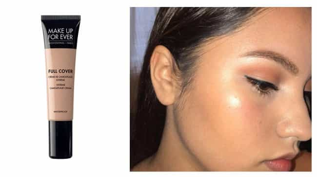 Full Cover Concealer By Make U... is listed (or ranked) 4 on the list These Amazing Concealers Can Cover Anything