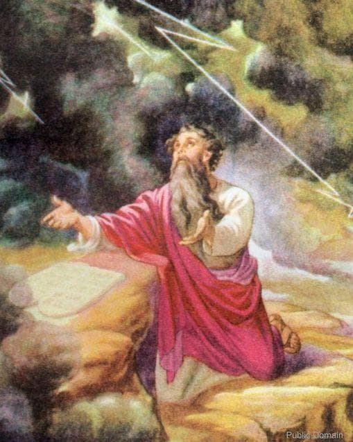 Random Historians Believe Moses May Have Been On Drugs