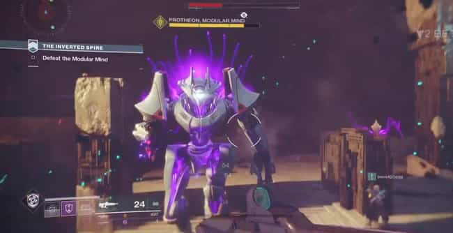 The Inverted Spire is listed (or ranked) 2 on the list List Of All 'Destiny 2' Bosses Ranked Best To Worst