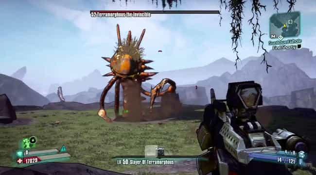 Terramorphous The Invincible is listed (or ranked) 3 on the list List of All Borderlands 2 Bosses Ranked Best to Worst