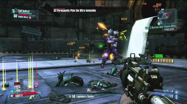 Pyro Pete The Invincible is listed (or ranked) 2 on the list List of All Borderlands 2 Bosses Ranked Best to Worst
