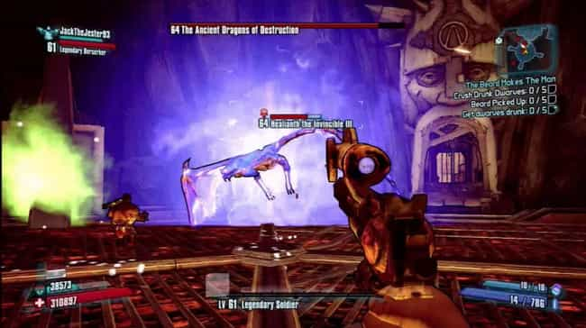 Ancient Dragons Of Destruction is listed (or ranked) 1 on the list List of All Borderlands 2 Bosses Ranked Best to Worst