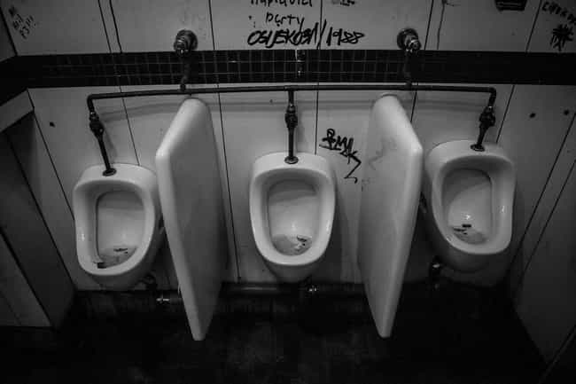 Public Bathrooms Aren't ... is listed (or ranked) 2 on the list These Public Spaces Do Get Cleaned, But How Often (Or Little) They Do Will Make You Disgusted
