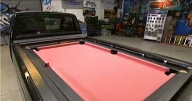 The Truck With A Pool Table