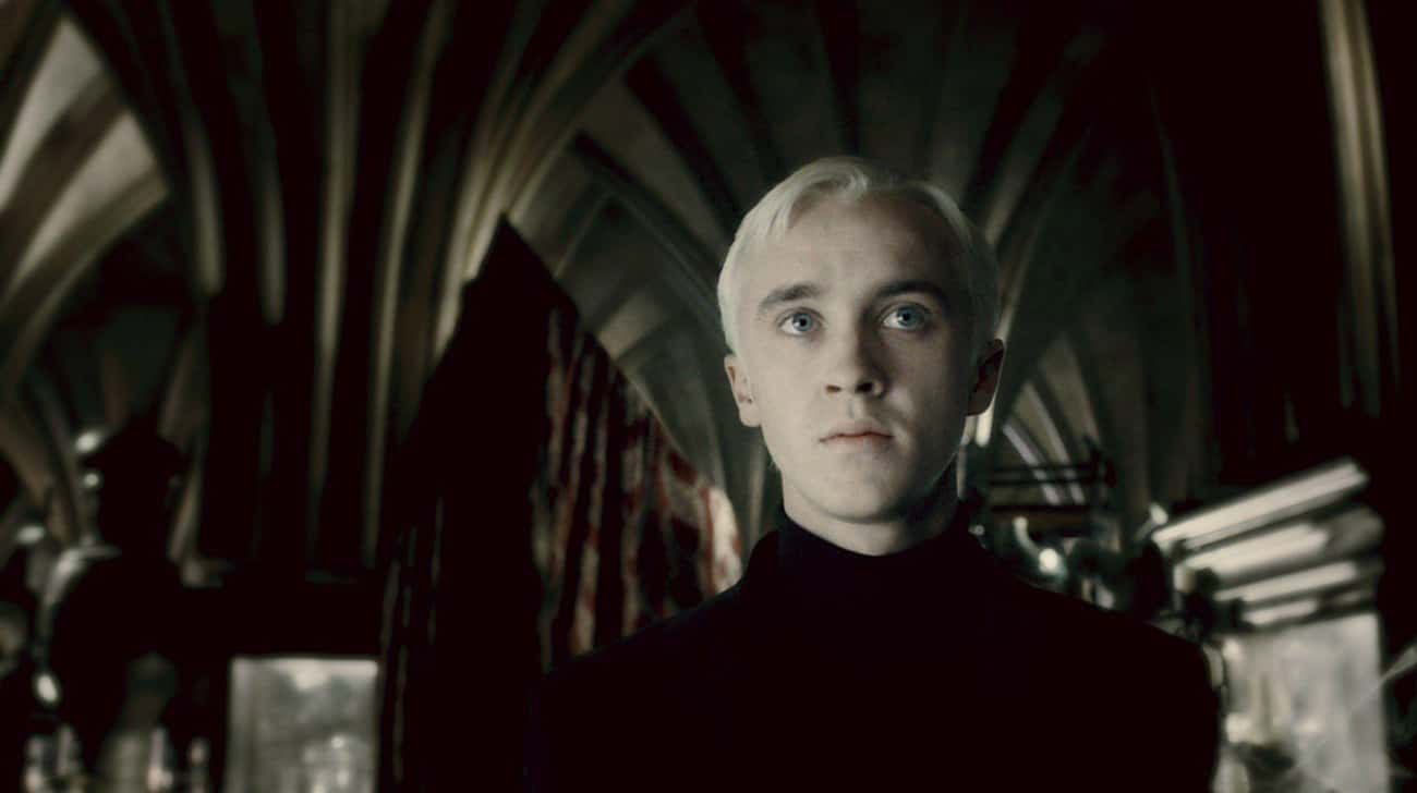 Draco Malfoy's Name Was Ac is listed (or ranked) 4 on the list 12 Bizarre Plot Points That Were Wisely Cut From The Harry Potter Books