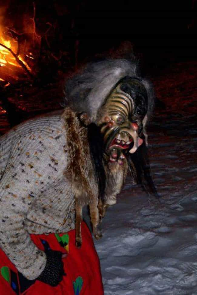 Frau Perchta Is Believed... is listed (or ranked) 6 on the list Frau Perchta Will Rip Out Your Organs And Replace Them With Garbage – Merry Christmas!