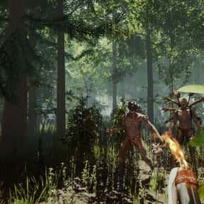 The Forest is listed (or ranked) 4 on the list Get Crafty With The Best Crafting Games On Steam