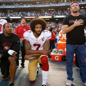 NFL National Anthem protests is listed (or ranked) 9 on the list The Things Everyone (Including You) Googled in 2017