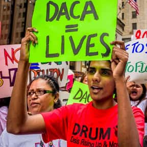 What is DACA? is listed (or ranked) 5 on the list The Things Everyone (Including You) Googled in 2017