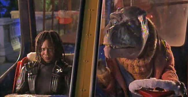 Whoopi Goldberg Was Forc... is listed (or ranked) 1 on the list The Bizarre True Story Behind the Weirdest '90s Movie Ever Made