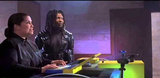 Whoopi Was Never Supposed To B... is listed (or ranked) 4 on the list The Bizarre True Story Behind the Weirdest '90s Movie Ever Made