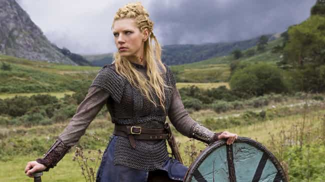 She Got Bored Sharing A ... is listed (or ranked) 3 on the list Turns Out The Real Inspiration For 'Vikings' Lagertha Is Even Tougher Than The TV Version