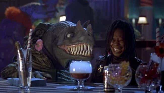 Whoopi Hated Literally E... is listed (or ranked) 2 on the list The Bizarre True Story Behind the Weirdest '90s Movie Ever Made
