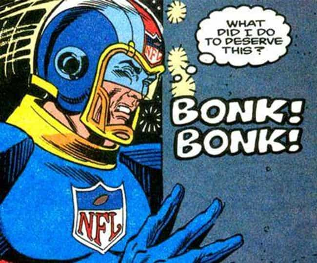 NFL Superpro is listed (or ranked) 6 on the list Strange Comic Book Characters Even The Marvel Cinematic Universe Couldn't Sell To Audiences