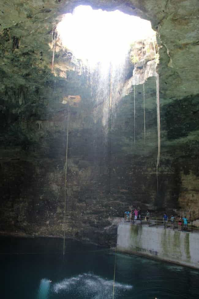 They Might Have Been Sacred Pl... is listed (or ranked) 3 on the list Cenotes Are A Natural Wonder, And They're Creepy As Hell