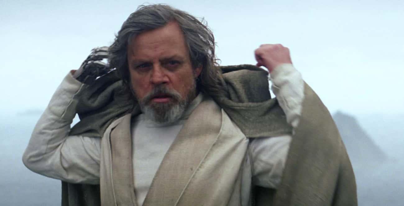 Luke Has Taken The Barash Vow, is listed (or ranked) 3 on the list Fan Theories About Luke Skywalker In The Last Jedi