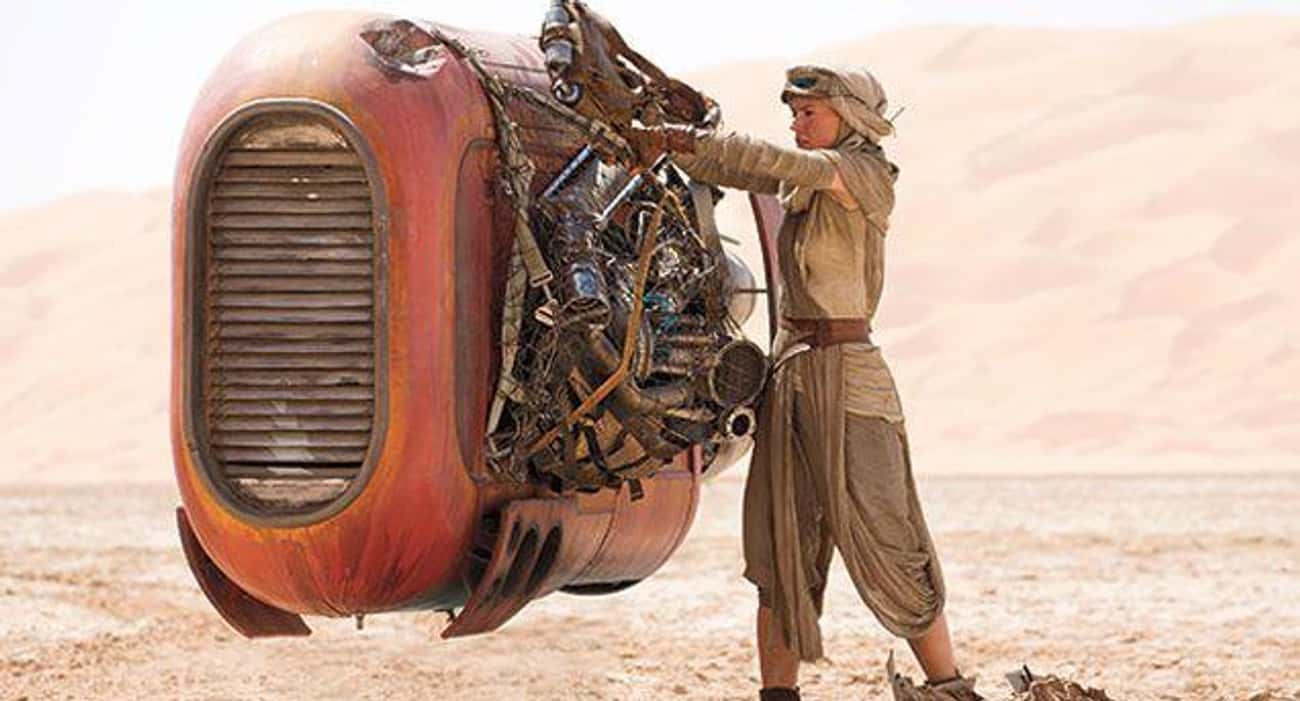 Rey Is The Chosen One Spoken O is listed (or ranked) 1 on the list 14 Star Wars Fan Theories About Rey's Past