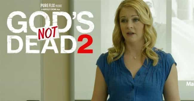 She Was In A Controversial Chr... is listed (or ranked) 3 on the list What The Heck Ever Happened To Melissa Joan Hart?