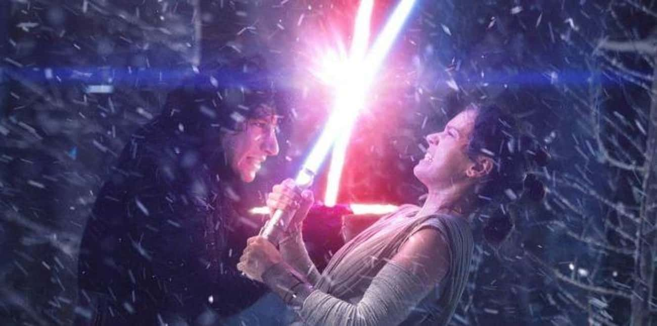 Rey And Kylo Ren Have A Connec is listed (or ranked) 3 on the list Reasons Why The Last Jedi Is So Much Better Than The Force Awakens