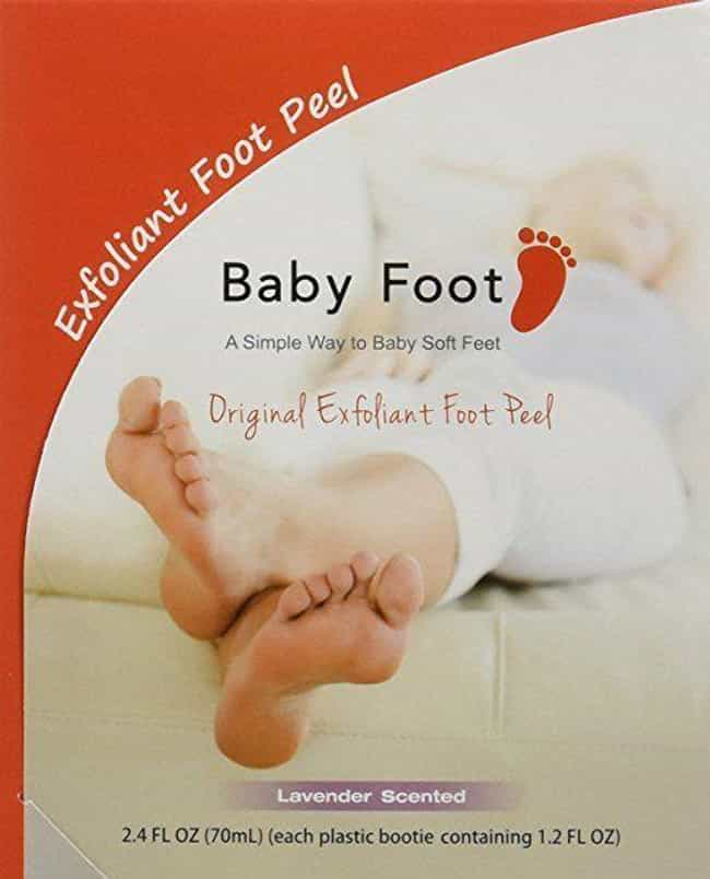 Exfoliant Foot Peel By Baby Fo... is listed (or ranked) 3 on the list Amazon Beauty Products With A Cult Following That Won't Break The Bank