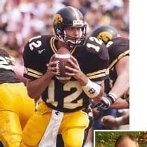 Matt Sherman is listed (or ranked) 14 on the list The Best Iowa Hawkeyes Quarterbacks of All Time