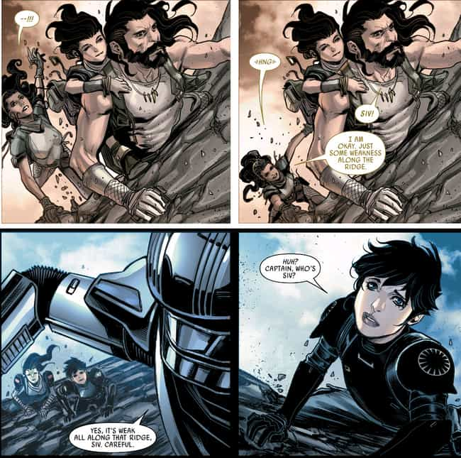 Phasma Had To Betray Her Clan ... is listed (or ranked) 2 on the list The Secret Origin Story Of Captain Phasma Is As Fascinating As It Is Tragic