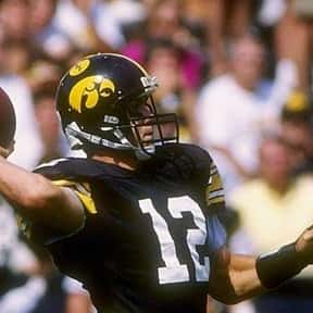 Jim Hartlieb is listed (or ranked) 11 on the list The Best Iowa Hawkeyes Quarterbacks of All Time