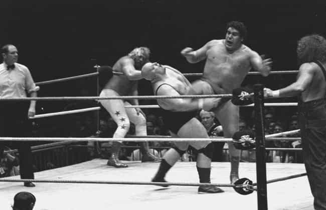 He Was A Prankster And Used To... is listed (or ranked) 2 on the list 15 Stories That Prove André The Giant Was A Once In A Lifetime Legend