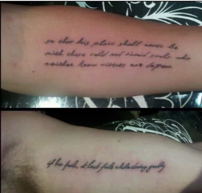 Liam Hemsworth and Miley... is listed (or ranked) 4 on the list Famous Couples Who Have Matching Tattoos