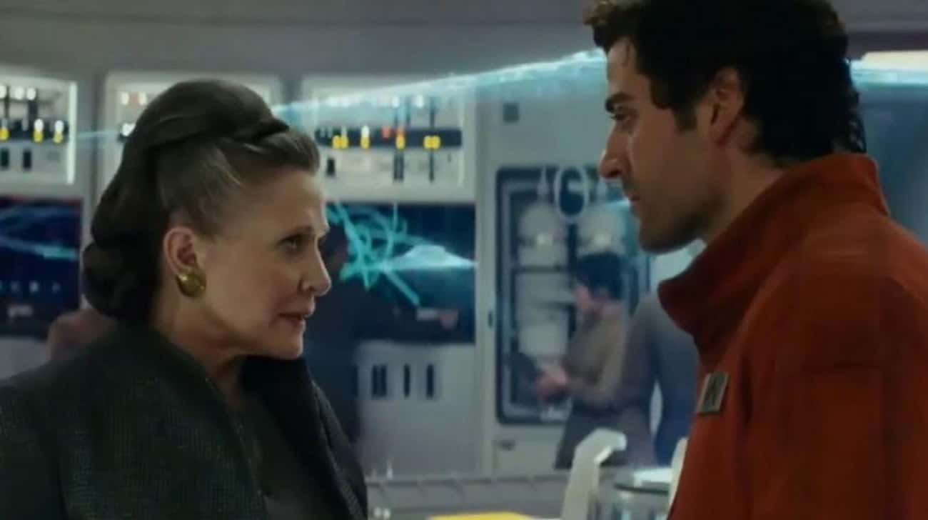 Poe Is Going To Become The Lea is listed (or ranked) 1 on the list 12 Crazy Fan Theories About Everyone's New Favorite Fighter Pilot, Poe Dameron