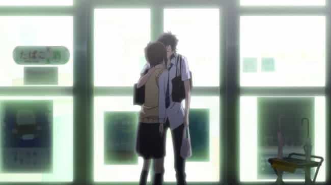 Mei Tachibana & Yamato Kurosaw... is listed (or ranked) 3 on the list The 14 Best First Kisses In Anime History