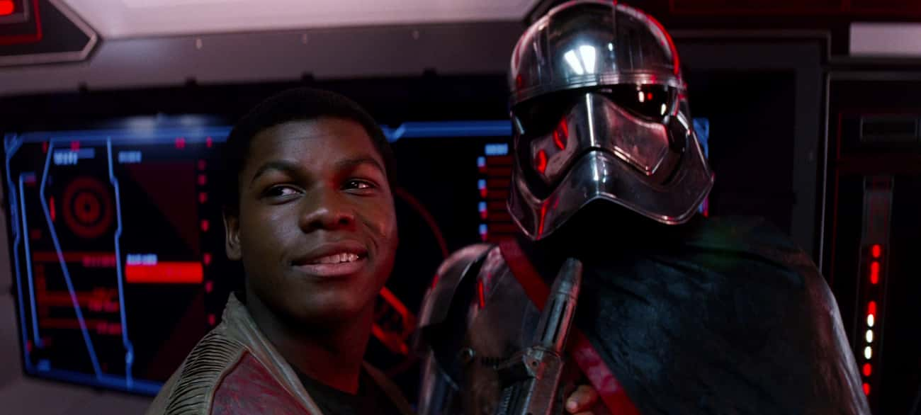 Finn Was Forced Into Janitoria is listed (or ranked) 3 on the list 15 Super In-Depth Fan Theories About Finn From Star Wars