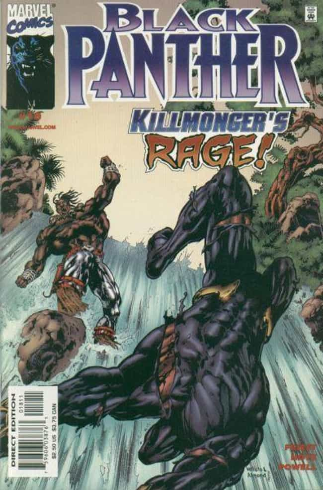 Killmonger's Rage is listed (or ranked) 1 on the list The Best Black Panther Storylines in Comics