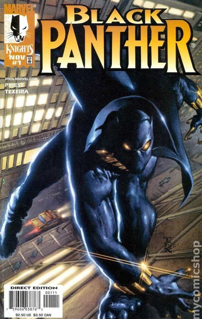 The Client is listed (or ranked) 3 on the list The Best Black Panther Storylines in Comics